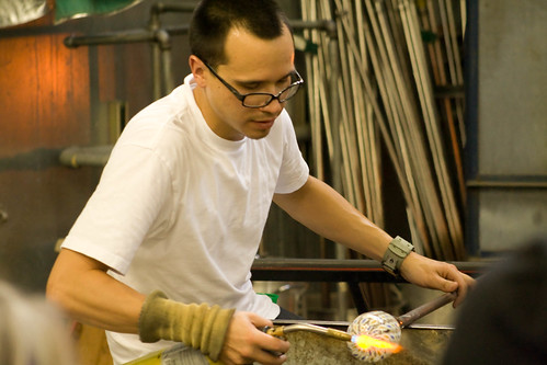 Rudy working on Glass