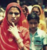 udaipur 2 (hanna.bi) Tags: street red portrait woman india sari udaipur rajahstan hannabi