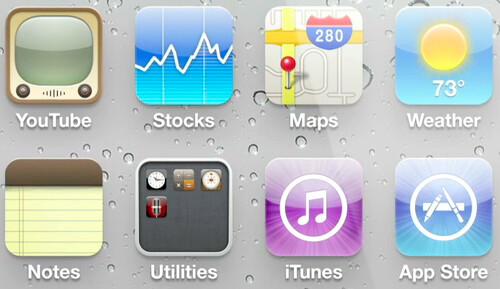 Captura de la pantalla de alta densidad del iPhone 4