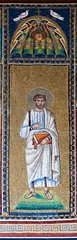 North 13 again (Nick in exsilio) Tags: italy book mosaics bible toga prophet scroll biblical ravenna patriarch tunic clavi santapollinarenuovo gammadia