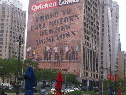Quicken Loans Detroit Move Billboard