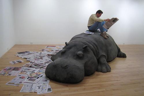 Allora & Calzadilla, Hope Hippo