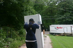 goodbye crummy old fridge
