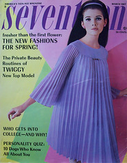 Seventeen magazine march 1967 (Simons retro) Tags: magazine march mod 60s 1967 1960s seventeen
