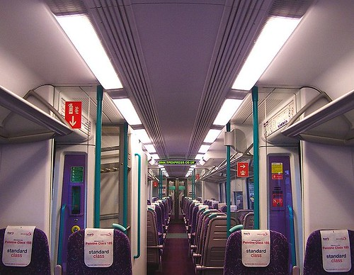 Trans-Pennine Express - Standard (2nd / Coach) interior (UK)