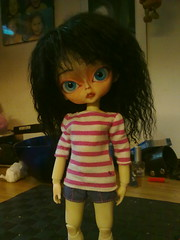Momo (Kasara) Tags: black eye glass momo hand made wig hujoo