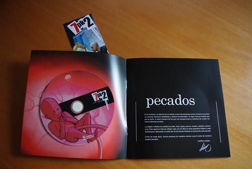 Folleto con dvd de animaciones - Exposición 7pk2 - Dino