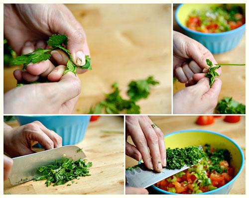 Moroccan Tomato Salad