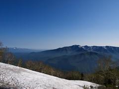 辛うじて滑れる黒岳スキー場