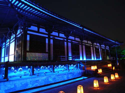 東院堂で幻想的なプラネタリウム!『薬師寺』@西ノ京