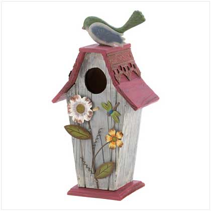 12586 Garden Cottage Birdhouse $19.95