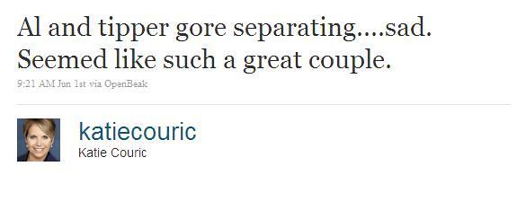 Katie Couric on Twitter