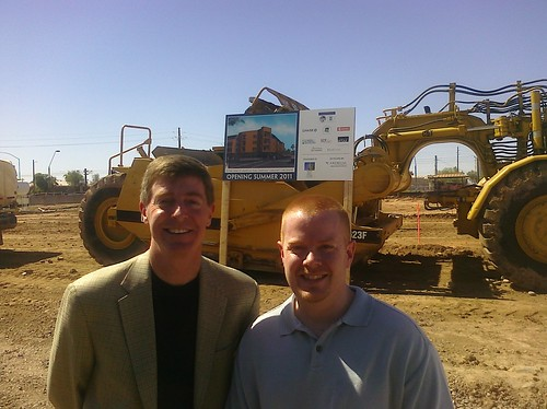 Ground breaking at the Apache Trails ASL project in Tempe