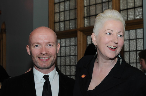 Criag Hill and guest at the opening night party for the Edinburgh International Film Festival
