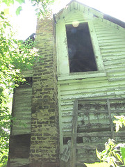 (bellydnce1103) Tags: sun house selfportrait abandoned girl illinois spots rockford belvidere
