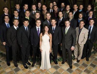 одна девушка с многими парнями