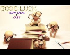 "Good Luck   ..  (Ohoud ""Oudi"") Tags:  talal  oudi goldstaraward"