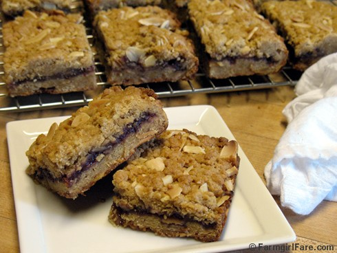Easy Raspberry Almond Bars 2
