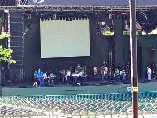 "Musicians rehearse recreation of Miles Davis' ""Bitches Brew"" at Prospect Park Bandshell.jpg"