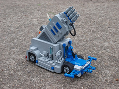 Mobile Laser Beam Generator (crises_crs) Tags: blue mobile lego space generator laser vehicle powerfunction lugpol