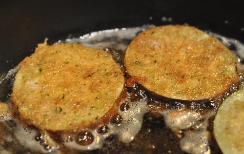 Fried Breaded Eggplant