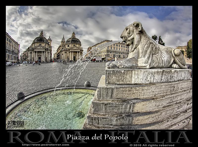 Roma - la Plaza del Pueblo
