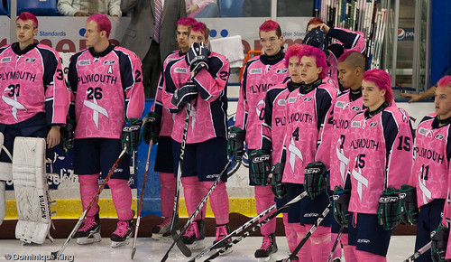 Plymouth Whalers Pink Out