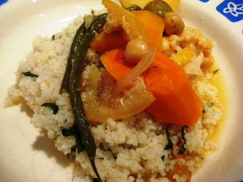 Tajine on Couscous