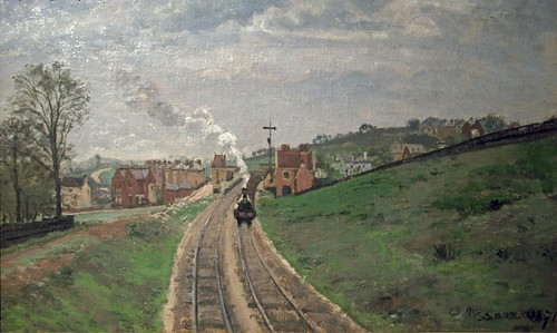 Camille Pissarro - Lordship Lane Station Dulwich 1871
