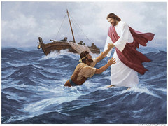 Jesus Walk Water Mormon