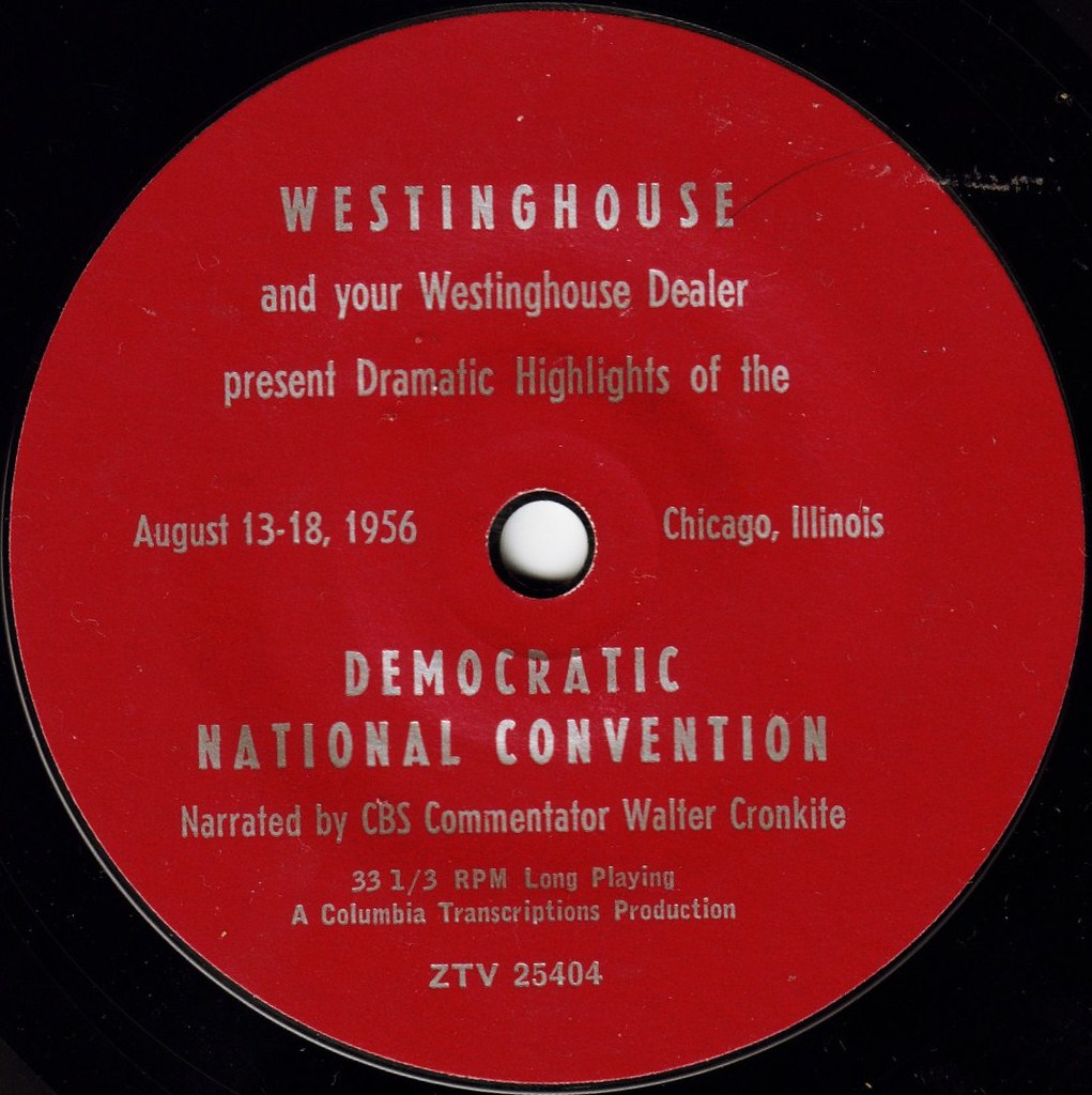 DEMOCRATIC NATIONAL CONVENTION AUGUST 13-18, 1956