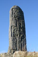 Cross inscribed pillar (catb -) Tags: ireland stone ancient cross pillar fa donegal megalith inscribed