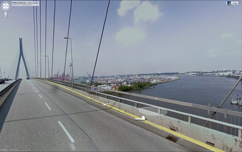 screenshot koehlbrandbrücke streetview