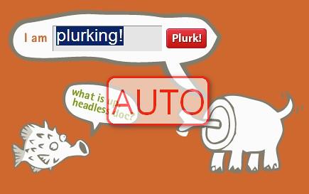 Plurk自動發噗機器人實作