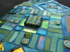 Gum Drop Close Up (Ginny Sher) Tags: art mirror mosaic stainedglass vitreous dichroic millifiori
