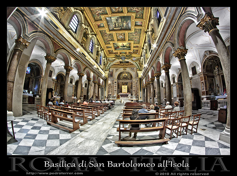 Roma - San Bartolomeo alla Isola Tibertina