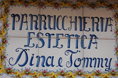 Purrucchiere - Hair Dresser (kikkedikikka) Tags: italy hair italia dresser sicilia erice trapani parrucchiere rgspaesaggio rgscastelli rgsnatura rgsscorci