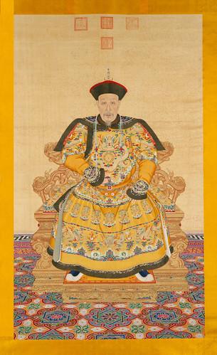 02_Portrait of the Qianlong Emperor