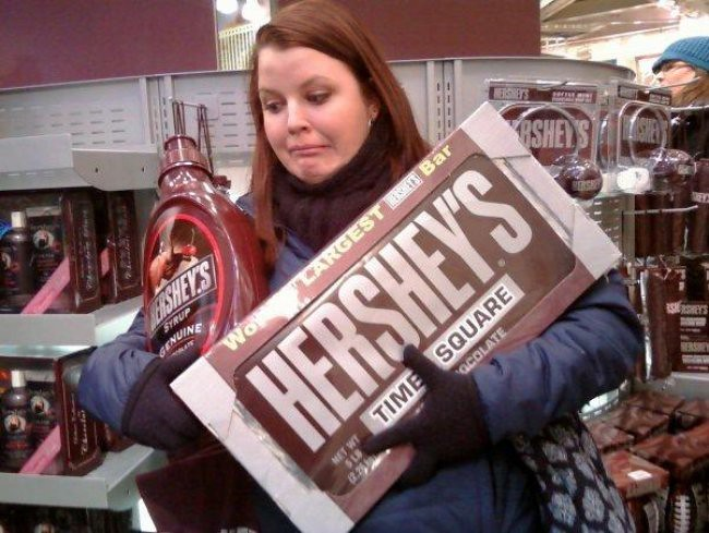 Hershey's Makes the very Best...