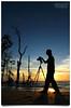 Nature's Photographer (AnNamir™ c[_]) Tags: sunset sun beach silhouette canon eos nikon tripod buddy malaysia 7d handheld penang silueta siluet soe 1022mm pantai senja selangor photog anglefinder d90 banting widelens maghrib leadingline matahariterbenam kelanang stunningskies decluttr annamir 100commentgroup sirmart muktasyaf bealivebetopbeseven outingpahceroh