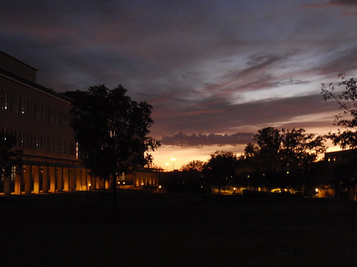 Darkness Falls Across Campus