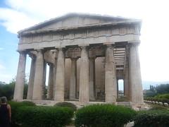 TEMPLE OF  HAEPHESTOS  - AGORA ATHENS - 8 OCTOBER 2012 (ladas67) Tags: athens haephestion agoraathens greektemple