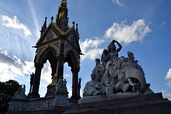 DSC_5181 (photographer695) Tags: hyde park london the albert memorial is situated kensington gardens commissioned by queen victoria memory her beloved husband prince who died typhoid 1861