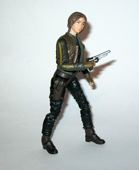jyn erso - sergeant jyn erso - jedha star wars the black series 6 inch action figures 2016 red packaging the force awakens #22 rogue one r (tjparkside) Tags: sergeant jyn erso jedha rebel star wars sw tbs black series 6 six inch action figure figures hasbro 2016 rogue 1 one story alliance number 22 twenty two red package disney scarf cloak hood blaster holster jacket pistol weapon r1 packaging force awakens