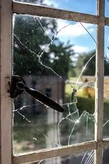 RAF Newton (deltic17) Tags: raf history rafnewton windows broken derelict dereliction abandoned haunted ww2 glass cracked canon canon5dmk3 airbase