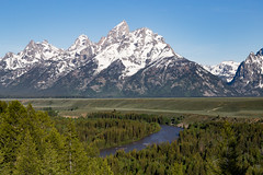 Snake River, Grand Teton National Park (repete7) Tags: wyoming unitedstates us grandtetonnationalpark snakeriver usa canon canon6d canon24105l landscape mountains tetons