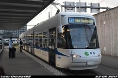 3073 (northwest85) Tags: verkehrsbetriebe zürich vbz 3073 bombardier cobra be 56 12 bhf stettbach flughafenstrasse kloten switzerland tram