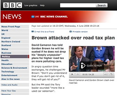 BBC: but road tax was abolished in 1936