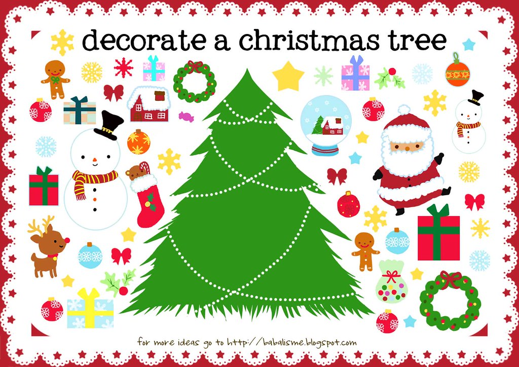 Lets Decor The Tree Merry Christmas