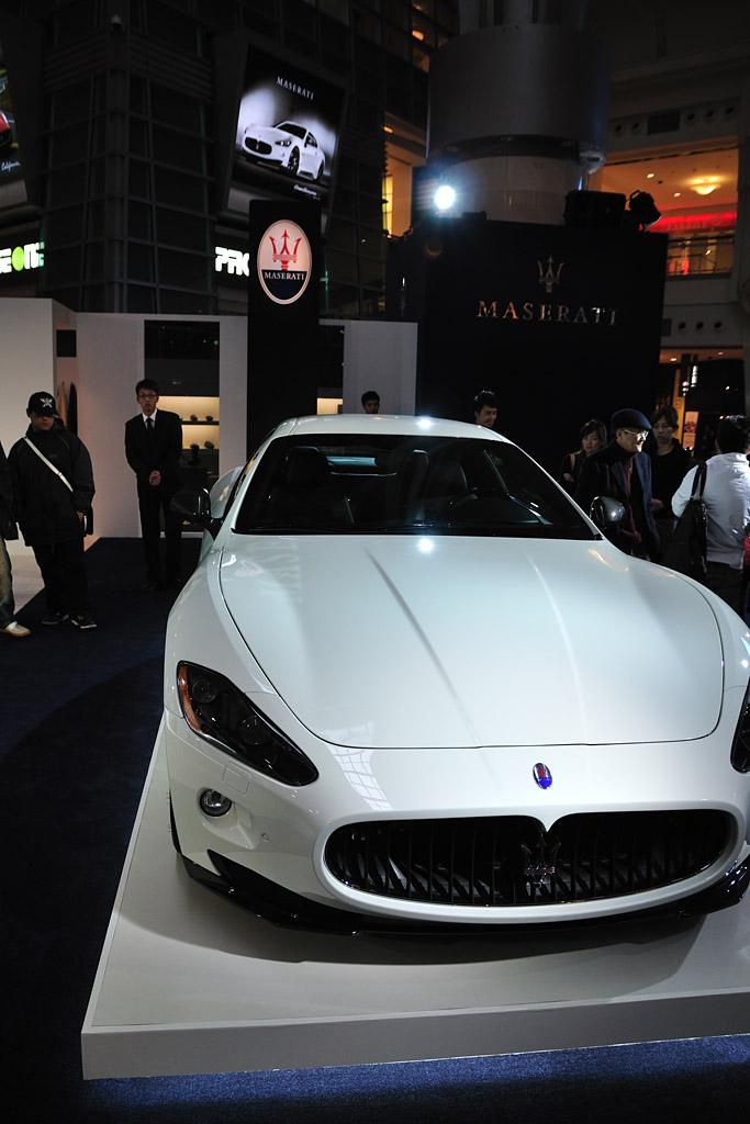 Maserati GranTurismo S MCsportline